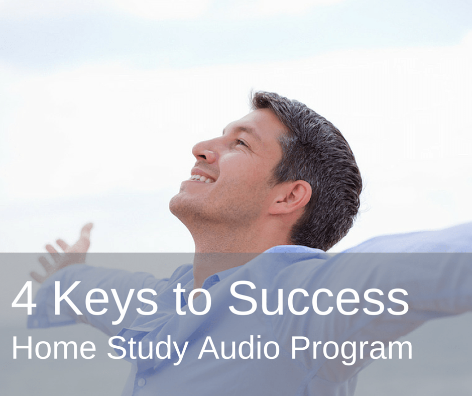4 keys to success home study audio program