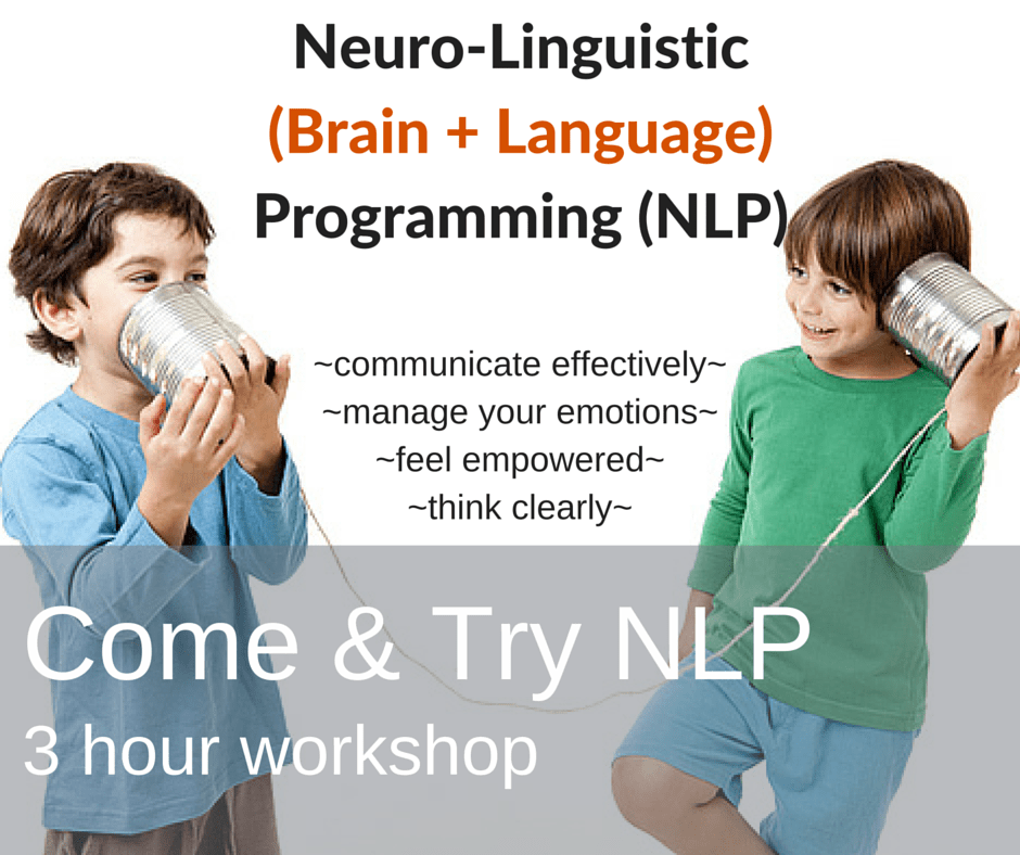 NLP Come & Try Workshop